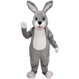 Grey Bunny Lightweight Mascot Costume