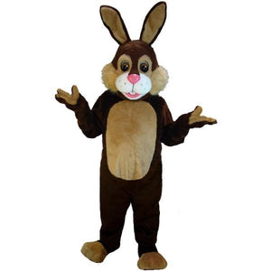 Chocolate Rabbit Lightweight Mascot Costume