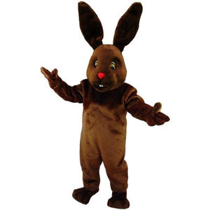 Chocolate Bunny Lightweight Mascot Costume