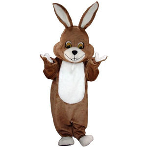 Brown Rabbit Lightweight Mascot Costume