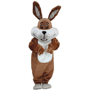 Super Brown Bunny Lightweight Mascot Costume