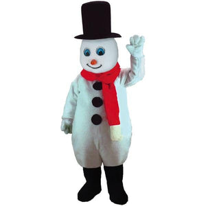 Mr. Snowman Lightweight Mascot Costume