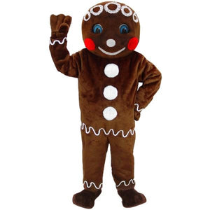 Mr. Gingerbread Lightweight Mascot Costume