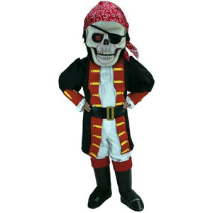 Skull Pirate Lightweight Mascot Costume