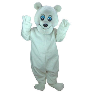 Frosty the Bear Mascot Costume