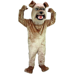 Sparky the Bulldog Mascot Costume