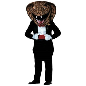 Dressed to Kill Cobra Mascot - Head Only