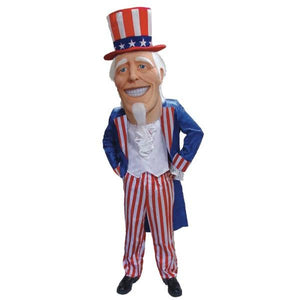 Uncle Sammy Mascot Costume