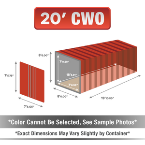 20' shipping container for sale, 20' shipping container, 20' container, shipping container for sale, conex, cargo container, 20' container, 20' storage container, buy shipping container, used shipping container, used shipping container for sale, 20' CWO container, cargo worthy container