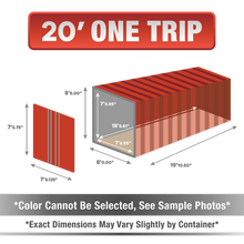 20' shipping container for sale, 20' shipping container, 20' container, shipping container for sale, conex, cargo container, 20' container, 20' storage container, buy shipping container, used shipping container, used shipping container for sale, 20' one trip container, one trip container