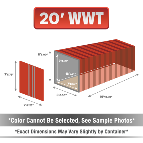 20' shipping container for sale, 20' shipping container, 20' container, shipping container for sale, conex, cargo container, 20' container, 20' storage container, buy shipping container, used shipping container, used shipping container for sale, 20' WWT container, wind and water tight container