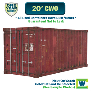 20' cargo worthy shipping container Chicago, 20' CWO shipping container, 20' shipping container Chicago, Chicago shipping containers for sale, rent storage container Chicago, conex for sale, conex container, cargo container, intermodal shipping container, storage container