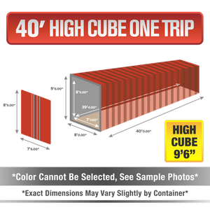 40' high cube shipping container for sale, 40' high cube shipping container, 40' high cube container, shipping container for sale, conex, cargo container, 40' high cube container, 40' high cube storage container, buy shipping container, used shipping container, used shipping container for sale, 40' High Cube one trip container, one trip High Cube container