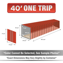 40' shipping container for sale, 40' shipping container, 40' container, shipping container for sale, conex, cargo container, 40' container, 40' storage container, buy shipping container, used shipping container, used shipping container for sale, 40' one trip container, one trip container