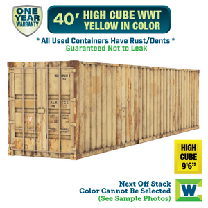 Atlanta Yellow Shipping Container For Sale, Atlanta Yellow High Cube Container, Shipping container for sale Atlanta, conex Atlanta, rent storage container Atlanta, conex, cargo container, used shipping container, used cargo container, storage trailer, storage container, steel storage container, portable storage container, storage trailer, sea container