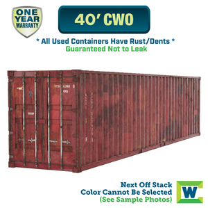 40' cargo worthy shipping container Chicago, 40' CWO shipping container, 40' shipping container Chicago, Chicago shipping containers for sale, rent storage container Chicago, conex for sale, conex container, cargo container, intermodal shipping container, storage container