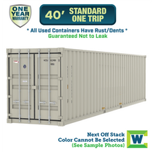 40 ft One Trip Shipping Container Atlanta, Shipping container for sale Atlanta, conex Atlanta, rent storage container Atlanta, conex, cargo container, used shipping container, used cargo container, storage trailer, storage container, steel storage container, portable storage container, storage trailer, sea container
