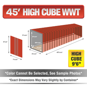45' high cube shipping container for sale, 45' high cube shipping container, 45' high cube container, shipping container for sale, conex, cargo container, 45' high cube container, 45' high cube storage container, buy shipping container, used shipping container, used shipping container for sale, 45' High Cube wind and water tight container, wind and water tight High Cube container