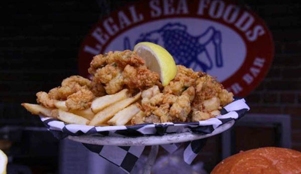 fried shrimp, fries, fenway, boston, mlb,