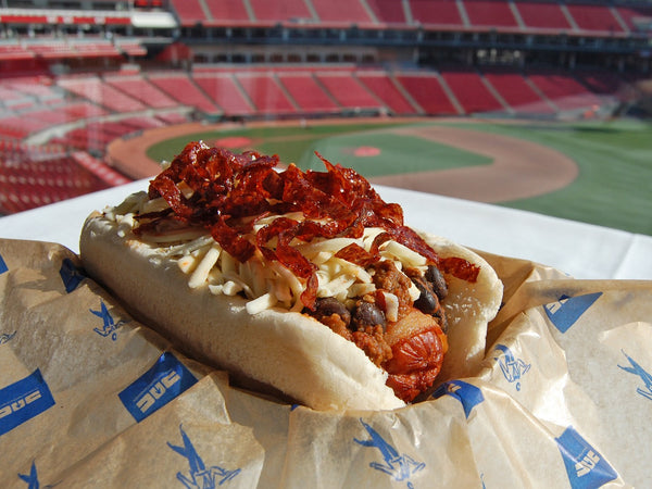 baseball, mlb, chili dog,