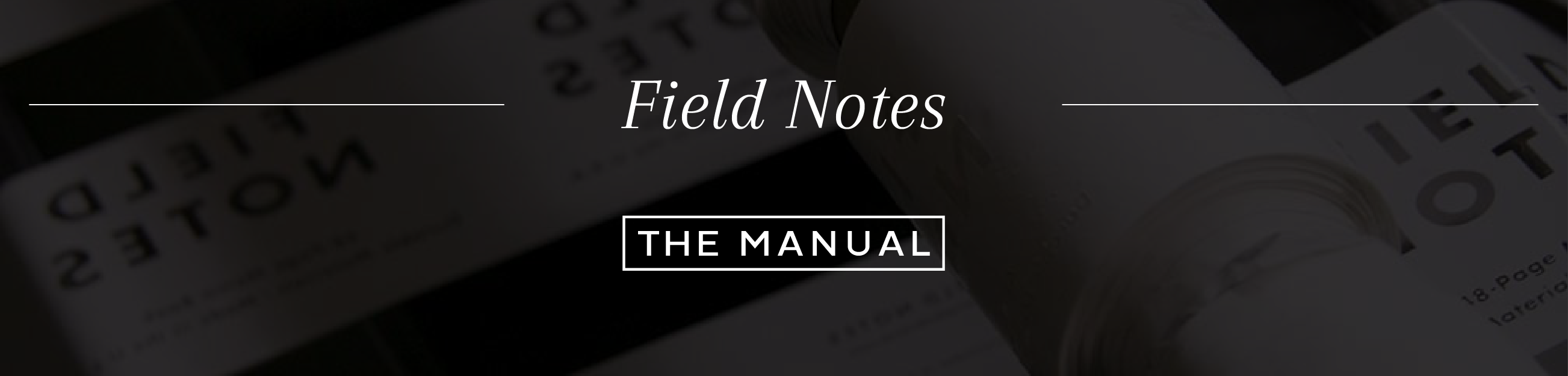 Field Notes Press