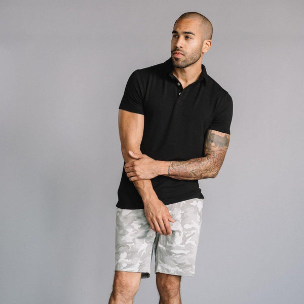 Morgan Bermuda Short in Stretch Twill Camo Print