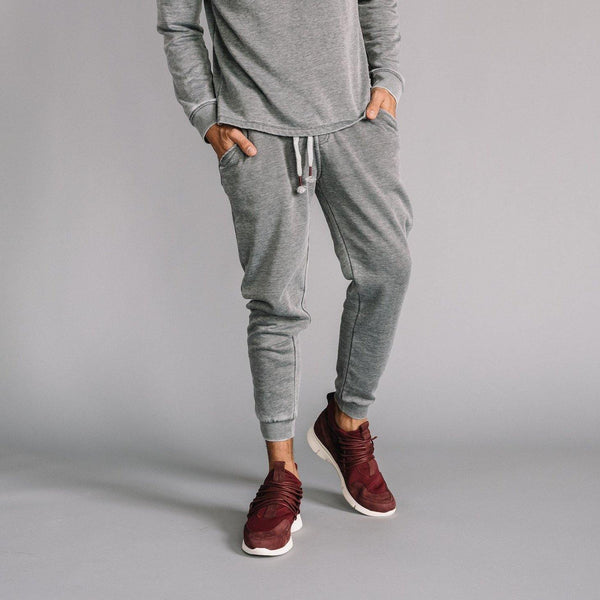 Robinson Burnout Jogger in Heather Gray