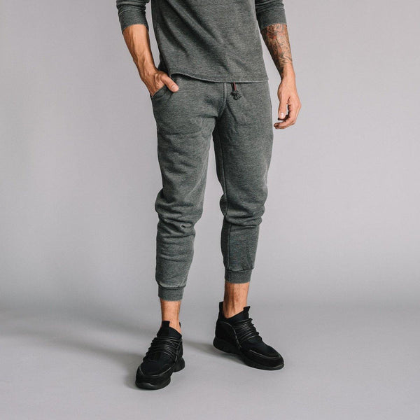 Robinson Burnout Jogger in Dark Gray