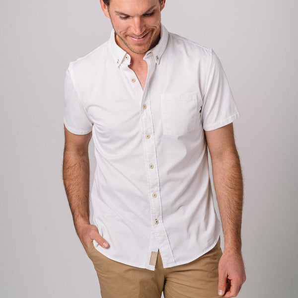 Truman Short Sleeve Corded Shirt