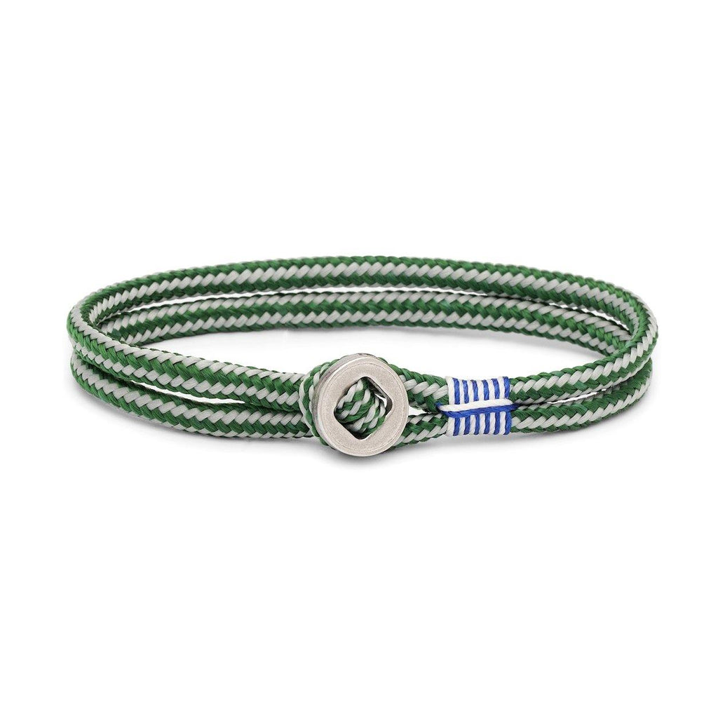 Don Dino in Jungle Green/Light Gray | Silver