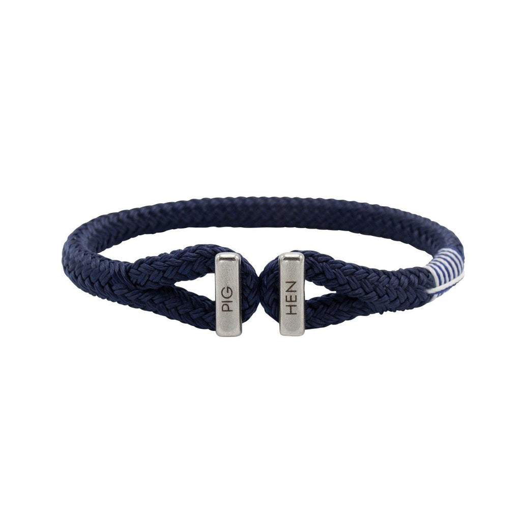 Icy Ike in Navy | Silver