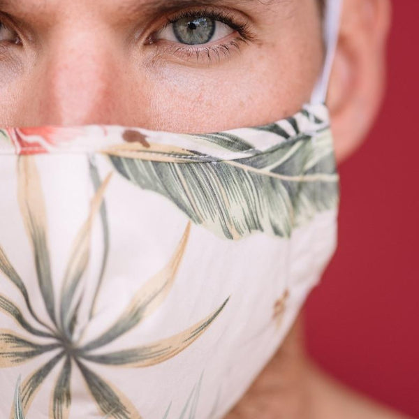 Mask in Hawaiian Print