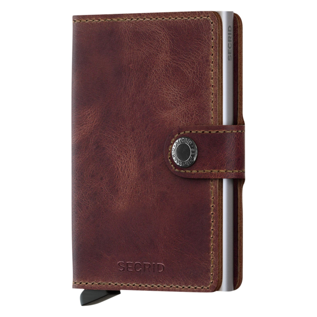 Miniwallet Vintage in Brown