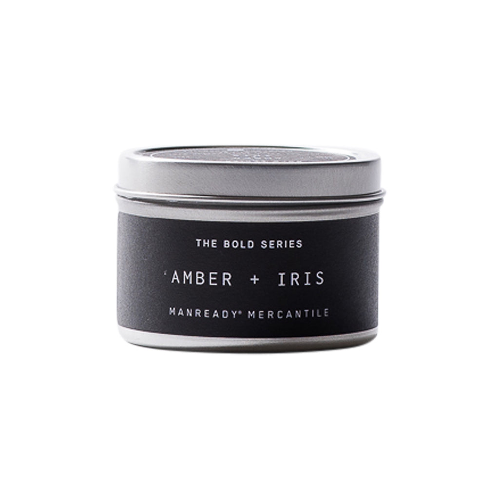 The Bold Series | Amber + Iris Soy Candle | Travel Size