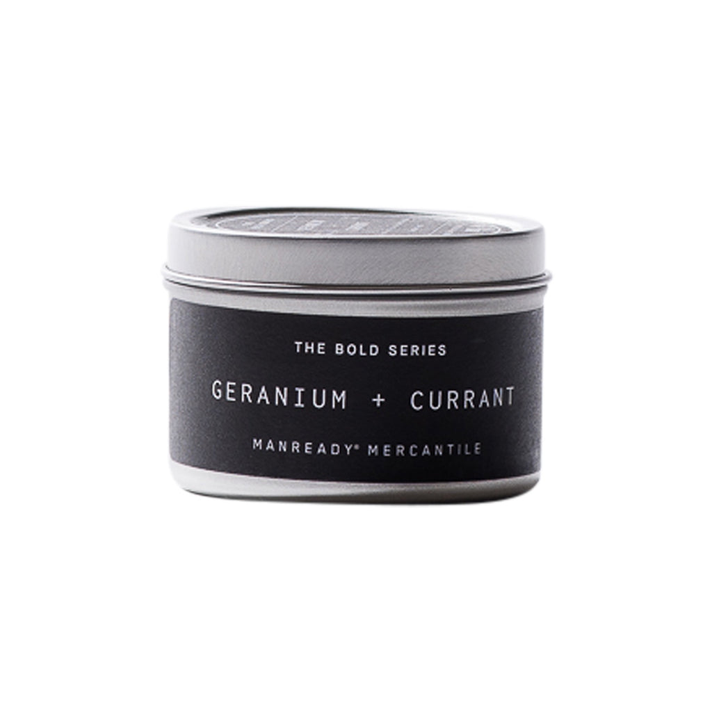 The Bold Series | Geranium + Currant Soy Candle | Travel Size