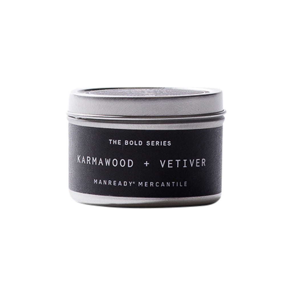 The Bold Series | Karmawood + Vetiver Soy Candle | Travel Size