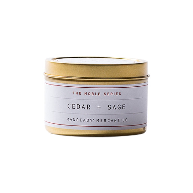The Noble Series | Cedar & Sage Soy Candle | Travel Size