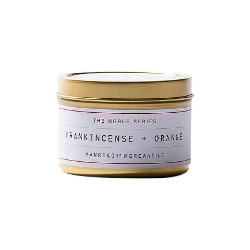 The Noble Series | Frankincense & Orange Soy Candle | Travel Size