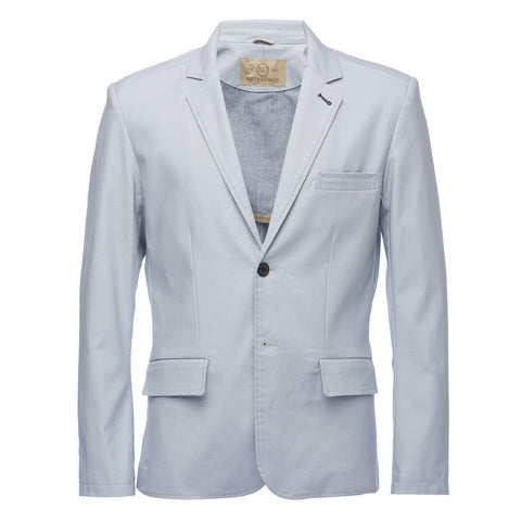 Kurt Blazer in Slub Light Blue