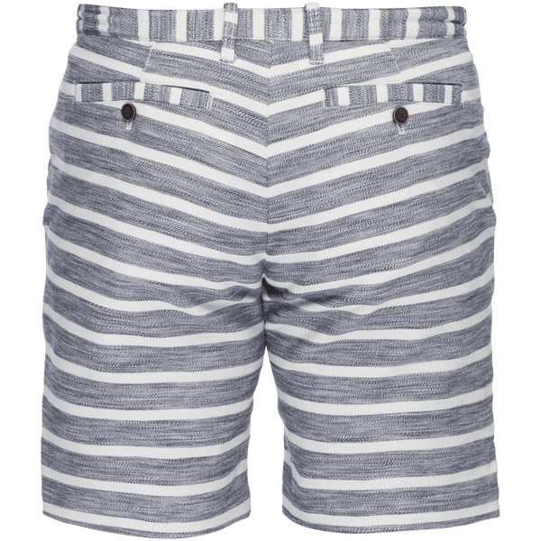 Morgan Bermuda Short in Navy/White Stripe