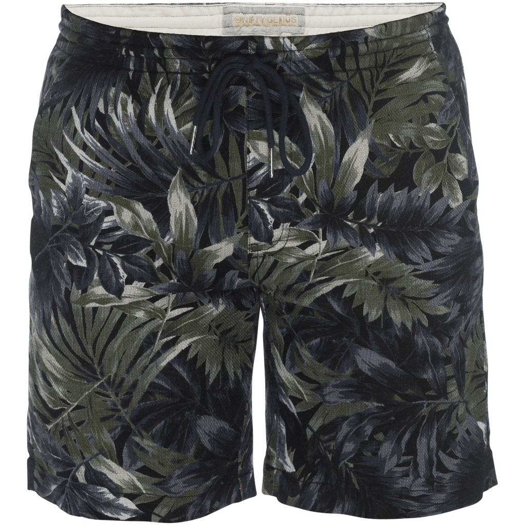 Steve Pull On Short in Tropical Print