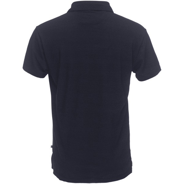 Nicklaus Slot Button Polo in Indigo
