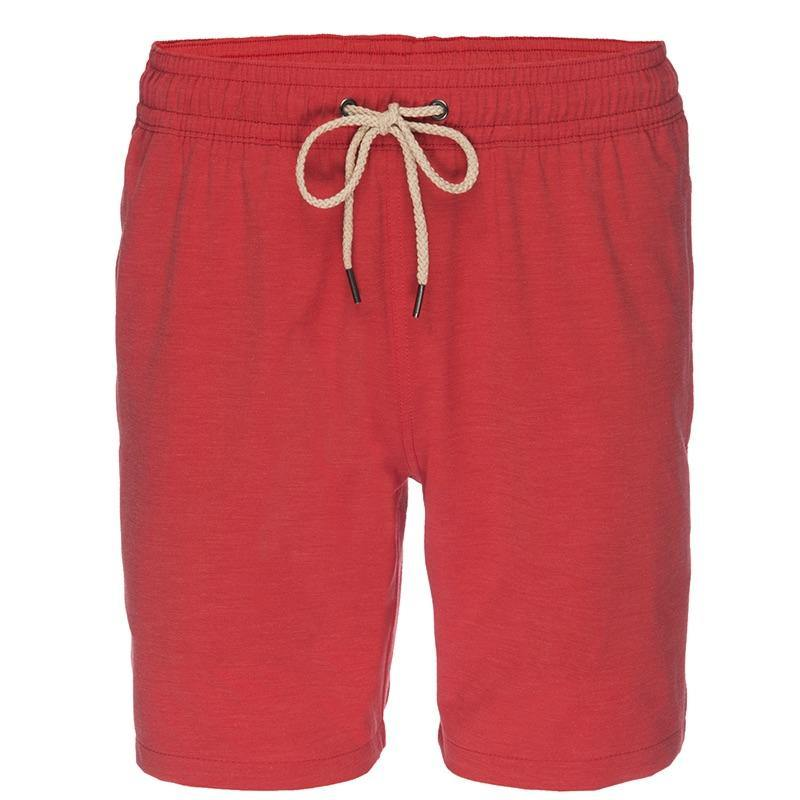 Fair Harbor X Nifty Genius Red Swim Trunks