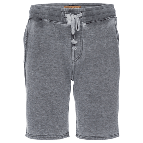 Burnout Pull On Short in Heather Gray
