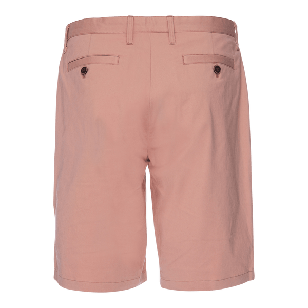 Morgan Bermuda Short in Solid Stretch Pink Twill