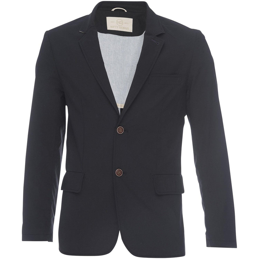 Kurt Notched Lapel Blazer in Stretch Ripstop