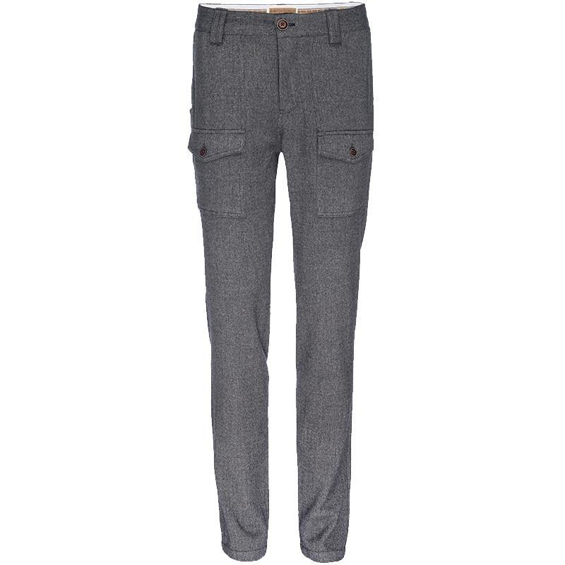 J.P. Stretch Military Pant in Gray