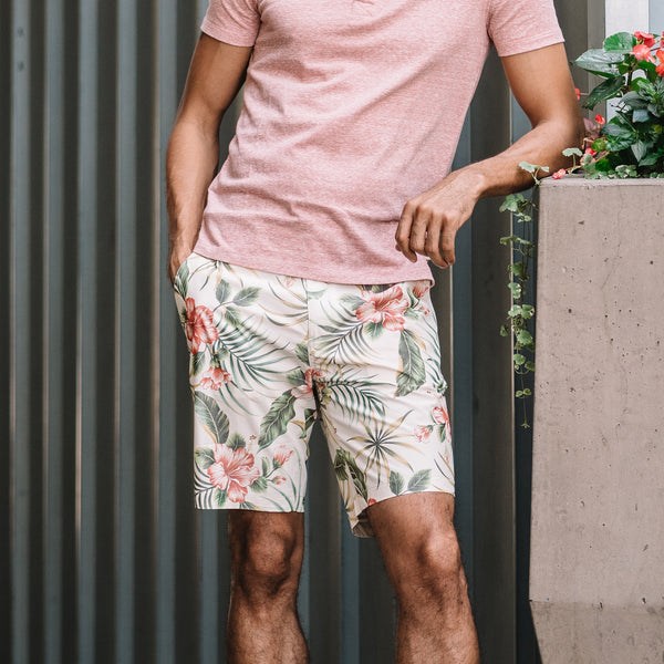 Morgan Bermuda Short in Hawaiian Print