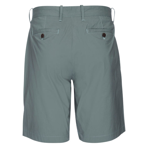 Morgan Bermuda Stretch Typewriter Cloth Short in Seafoam