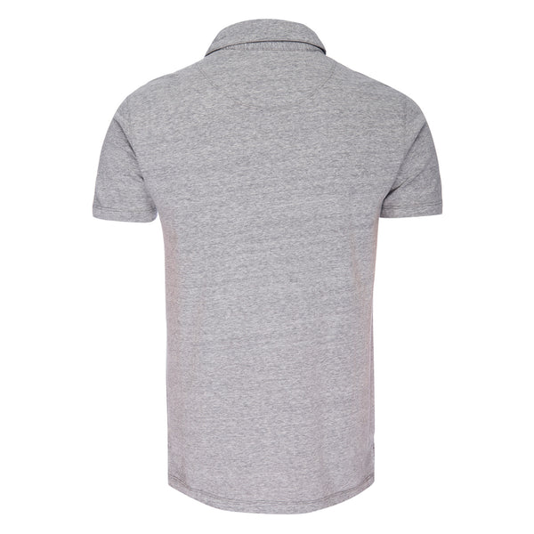 Nicklaus Recycled Cotton/Poly Polo in Gray